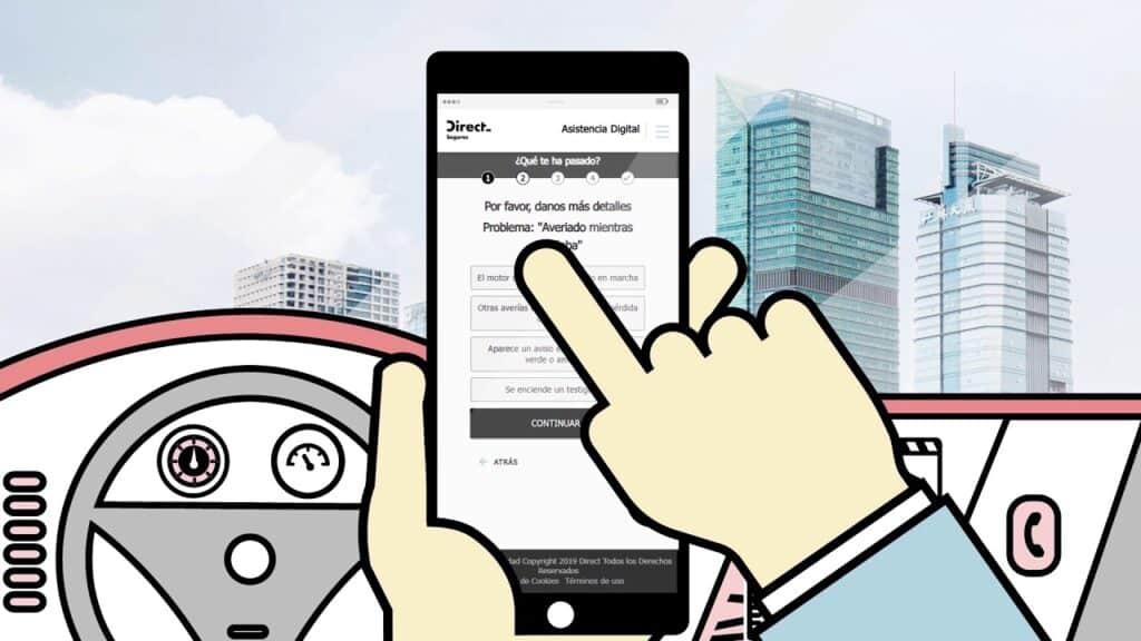 asistencia en carretera direct seguros